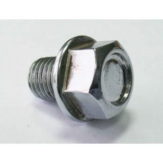 Болт-пробка для слива масла М10х1.25х12мм, сталь, LU060429
