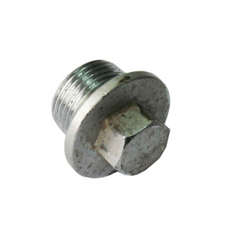 Болт-пробка для залива масла М20х1.5х12мм, сталь, LU060616