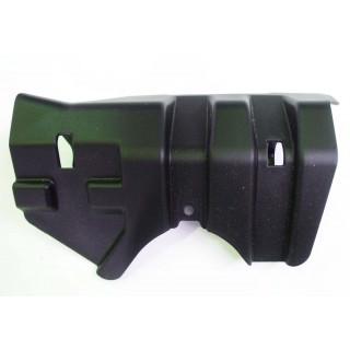 Щиток защитный переднего рычага подвески нижний правый, пластик, JU065047