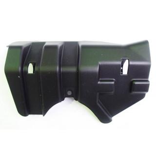 Щиток защитный переднего рычага подвески нижний левый, пластик, JU065046