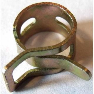 Хомут пружинный 10х8х0.6мм, сталь, LU013885