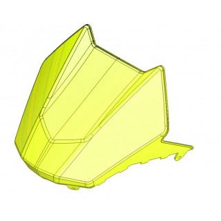 Панель облицовочная приборного щитка (желтый), пластик, LU079935