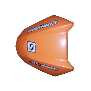 Панель облицовочная приборного щитка (оранжевый), пластик, JU075950