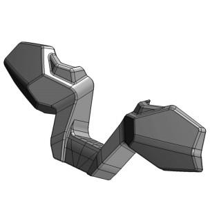 Защита рук (черный), пластик, LU069250