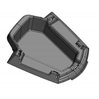 Корпус бардачка внутренняя часть (черный), пластик, LU069271