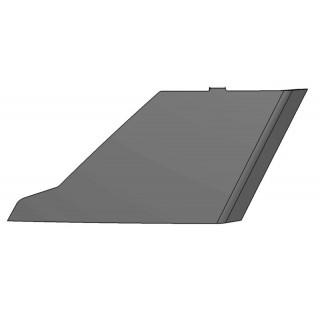 Заглушка левого воздухо-заборника (черный), пластик, LU069288