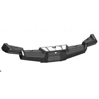 Панель облицовочная заднего бампера (черный), пластик, LU069242