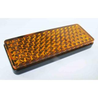 Световозвращатель боковой оранжевый 33х87мм (самоклеющийся), LU074395